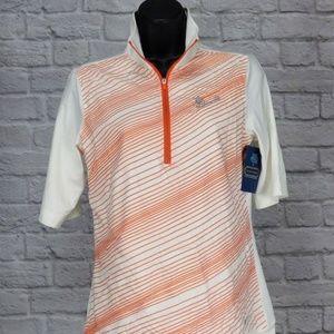 Nike Golf Women's Tour Performance 1/2 Zip Polo